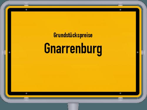 Grundstückspreise Gnarrenburg 2021