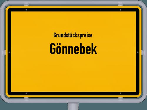 Grundstückspreise Gönnebek 2021