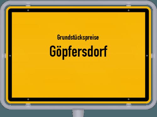 Grundstückspreise Göpfersdorf 2019