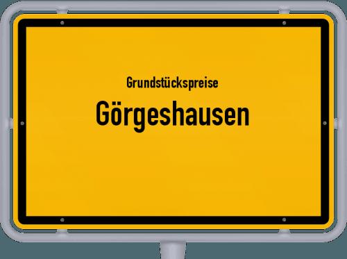 Grundstückspreise Görgeshausen 2019
