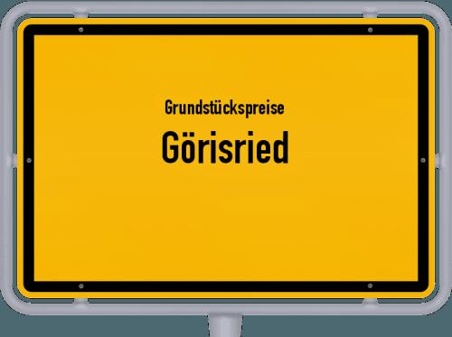 Grundstückspreise Görisried 2019