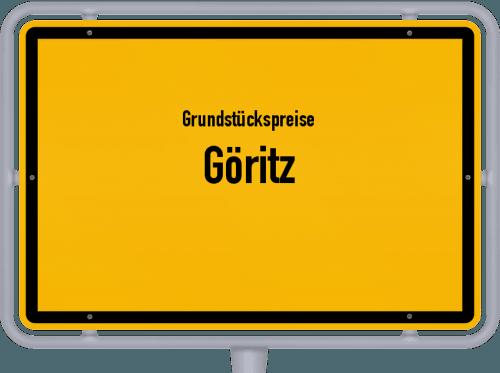 Grundstückspreise Göritz 2021