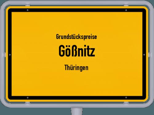 Grundstückspreise Gößnitz (Thüringen) 2019