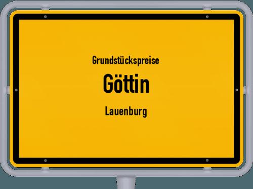 Grundstückspreise Göttin (Lauenburg) 2021