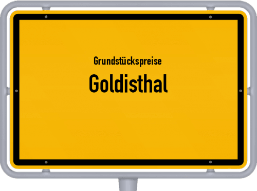Grundstückspreise Goldisthal 2019