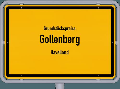 Grundstückspreise Gollenberg (Havelland) 2021