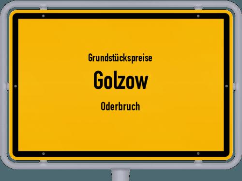 Grundstückspreise Golzow (Oderbruch) 2021