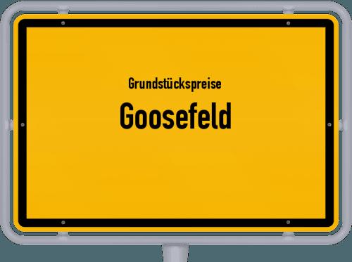 Grundstückspreise Goosefeld 2021