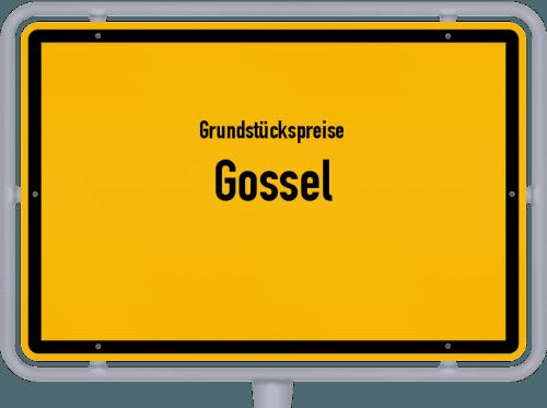 Grundstückspreise Gossel 2019