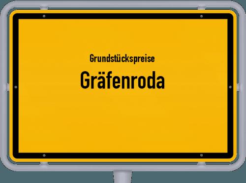 Grundstückspreise Gräfenroda 2019