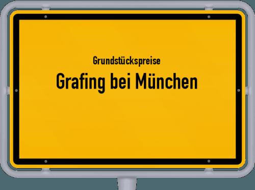 Grundstückspreise Grafing bei München 2019
