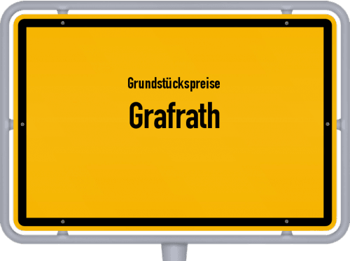 Grundstückspreise Grafrath 2020
