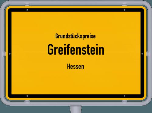Grundstückspreise Greifenstein (Hessen) 2019