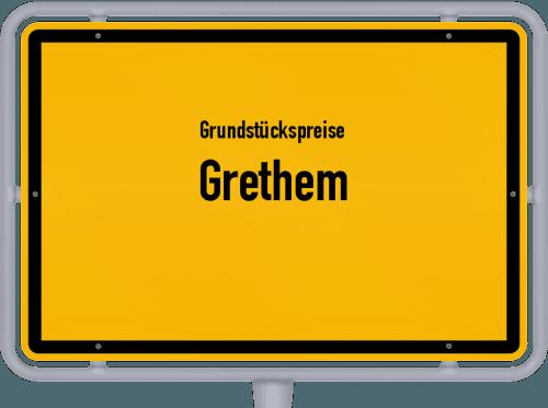 Grundstückspreise Grethem 2019
