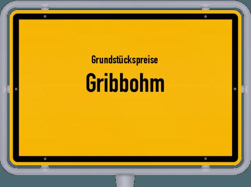 Grundstückspreise Gribbohm 2021