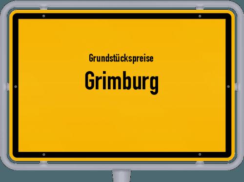 Grundstückspreise Grimburg 2019