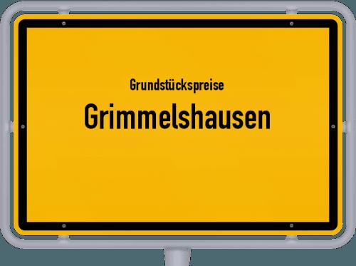 Grundstückspreise Grimmelshausen 2019