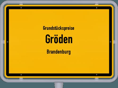 Grundstückspreise Gröden (Brandenburg) 2021