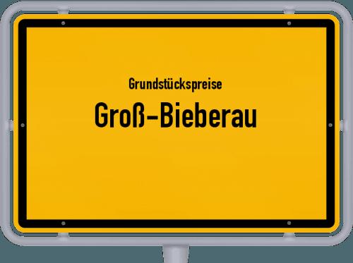 Grundstückspreise Groß-Bieberau 2019