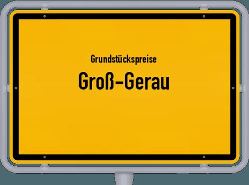 Grundstückspreise Groß-Gerau 2019