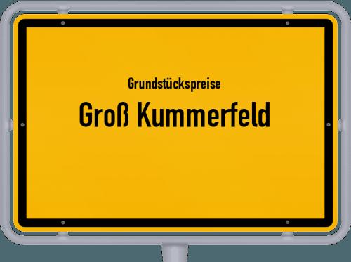 Grundstückspreise Groß Kummerfeld 2021