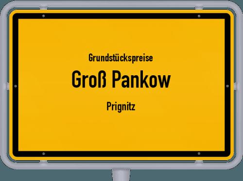 Grundstückspreise Groß Pankow (Prignitz) 2021