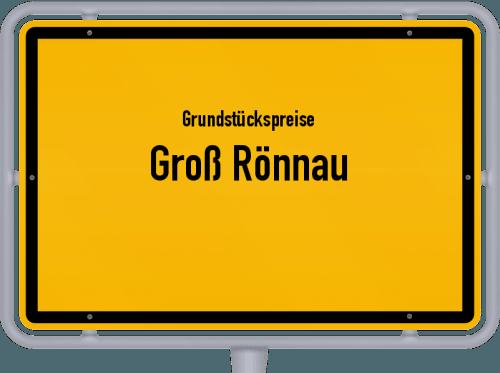 Grundstückspreise Groß Rönnau 2021