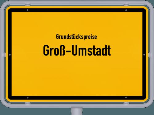 Grundstückspreise Groß-Umstadt 2020