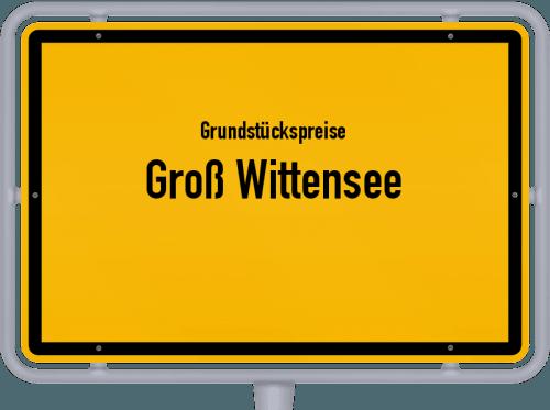Grundstückspreise Groß Wittensee 2021