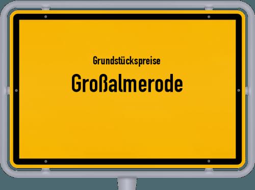 Grundstückspreise Großalmerode 2019