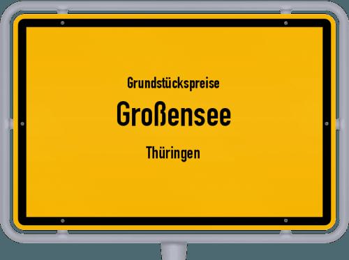 Grundstückspreise Großensee (Thüringen) 2019