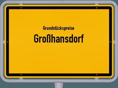 Grundstückspreise Großhansdorf 2021