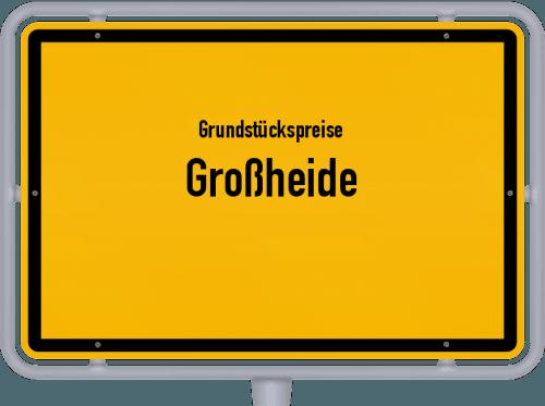 Grundstückspreise Großheide 2019