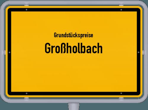 Grundstückspreise Großholbach 2019
