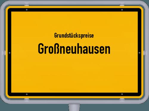 Grundstückspreise Großneuhausen 2019