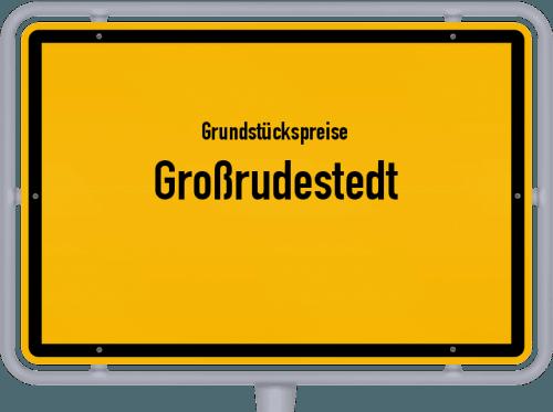 Grundstückspreise Großrudestedt 2019