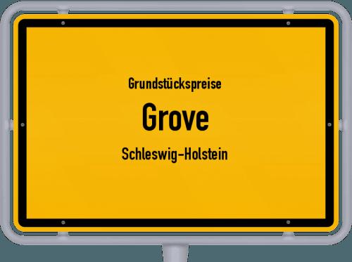Grundstückspreise Grove (Schleswig-Holstein) 2021