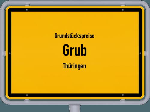 Grundstückspreise Grub (Thüringen) 2019