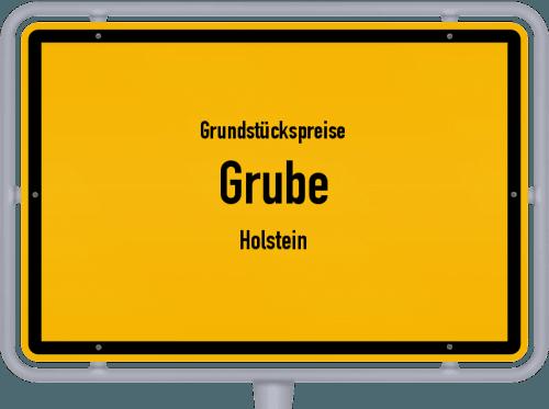 Grundstückspreise Grube (Holstein) 2021