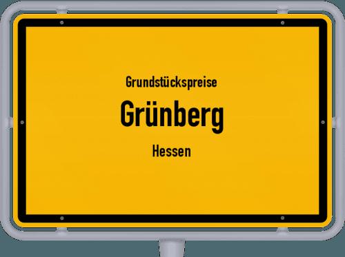 Grundstückspreise Grünberg (Hessen) 2020
