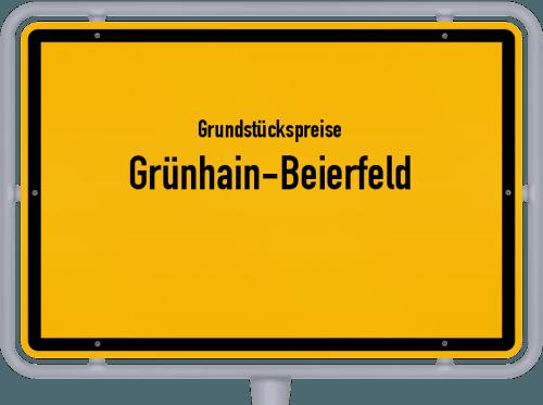 Grundstückspreise Grünhain-Beierfeld 2019