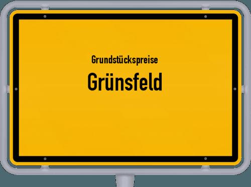 Grundstückspreise Grünsfeld 2021