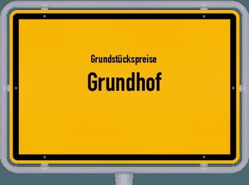 Grundstückspreise Grundhof 2021