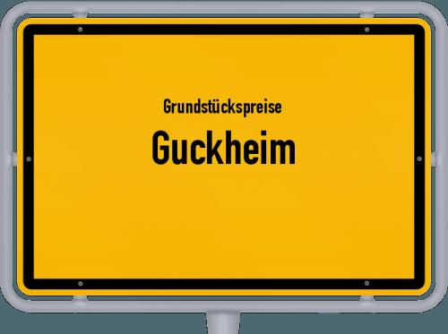 Grundstückspreise Guckheim 2019