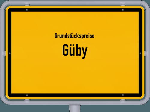 Grundstückspreise Güby 2021