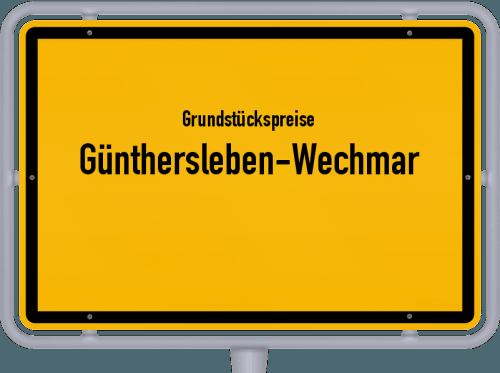 Grundstückspreise Günthersleben-Wechmar 2019
