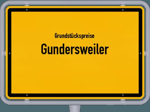 Grundstückspreise Gundersweiler 2019