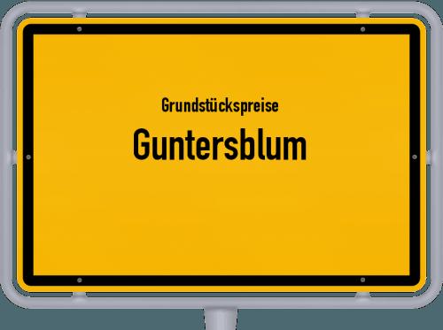 Grundstückspreise Guntersblum 2019