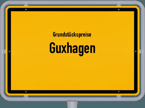 Grundstückspreise Guxhagen 2020