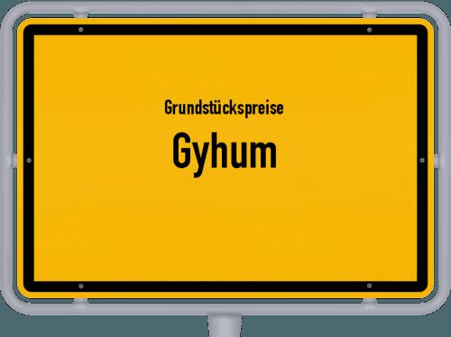Grundstückspreise Gyhum 2021